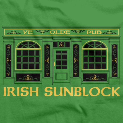 IRISH SUNBLOCK Green art preview
