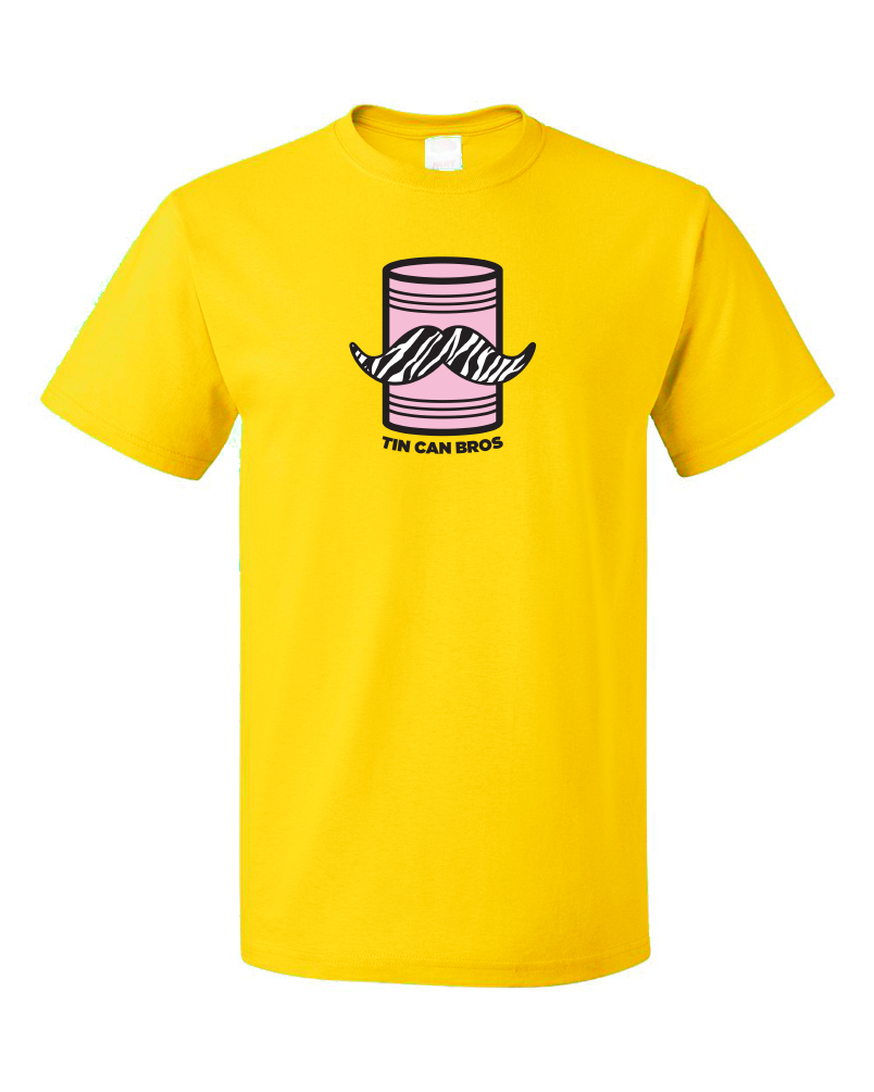 Tin Can Brothers - TinCanimals Pink and Yellow T-shirt product shot