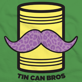 Tin Can Brothers - TinCanimals Green and Yellow Green Art Preview