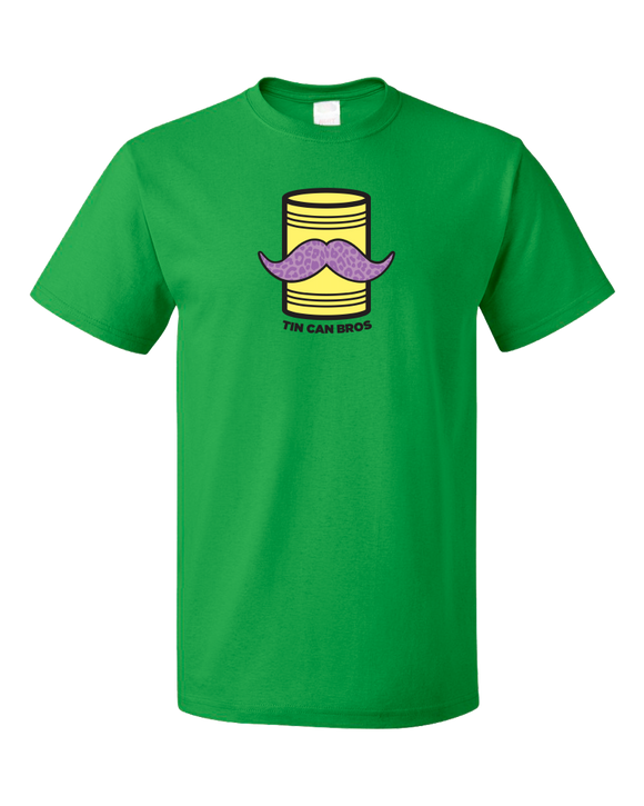 Standard Green Tin Can Brothers - TinCanimals Green and Yellow T-shirt
