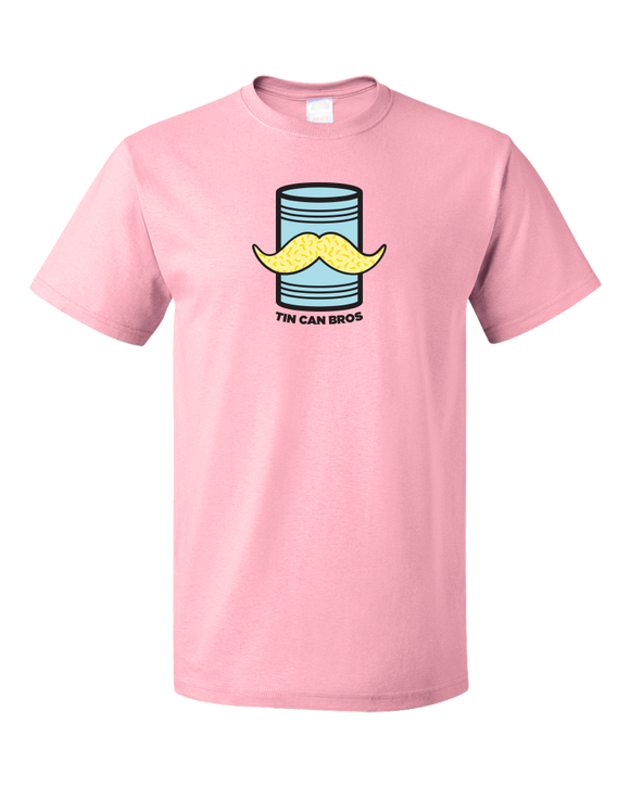 Standard Pink Tin Can Brothers - TinCanimals Blue and Pink T-shirt