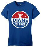 Girly Royal Tin Can Brothers - Diane for Mayor T-shirt
