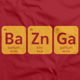 Bazinga Red art preview
