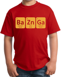 Youth Red Bazinga T-shirt