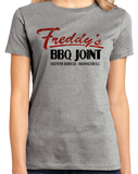 Ladies Grey Freddy's BBQ Joint T-shirt