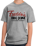 Youth Grey Freddy's BBQ Joint T-shirt