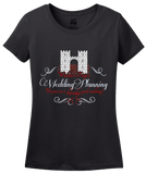 Ladies Black Frey's Wedding Planning: a Bloody Good Time! T-shirt
