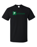 Unisex Black Pinkman Element T-shirt