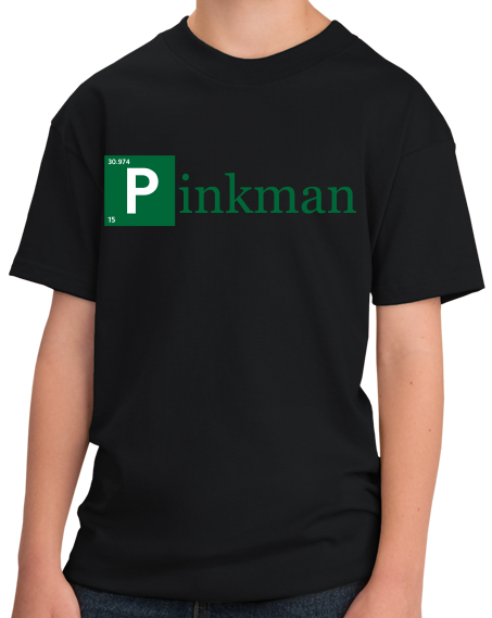 Youth Black Pinkman Element T-shirt