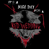 Nice Day for a Red Wedding Black art preview