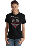 Ladies Black Nice Day for a Red Wedding T-shirt