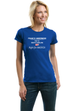 Ladies Royal Francis Underwood, Right for America T-shirt