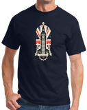 Standard Navy Big Ben UK Love - London Anglophile British Pride Love England T-shirt
