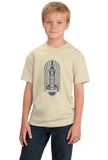 Youth Natural Big Ben Clock Tower - UK Pride London England British Love T-shirt