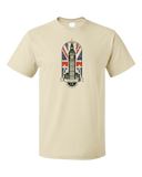 Standard Natural Big Ben Parliament - UK Pride London England Union Jack Love T-shirt