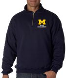 Quarter Zip Navy Stage Management Fleece