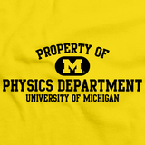 Yellow Property of UM Physics Dept. Yellow Art Preview