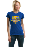 Ladies Royal America: Back To Back World War Champs - 4th of July USA Pride T-shirt