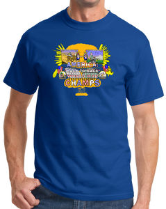 Standard Royal America: Back To Back World War Champs - 4th of July USA Pride T-shirt