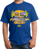 Youth Royal America: Back To Back World War Champs - 4th of July USA Pride T-shirt