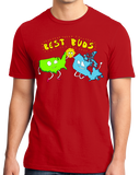 Standard Red USA & Canada = Best Buds! - Canada Love America Funny T-shirt
