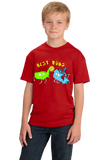 Youth Red USA & Canada = Best Buds! - Canada Love America Funny T-shirt