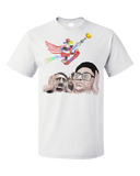 Standard White Epic Skateboarding Eagle - 4th of July Funny 'Merica X-Games T-shirt