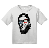 Youth White Elwart Face Tee T-shirt