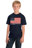 Youth Navy #FREEDOMFRIDAY USA Flag  T-shirt