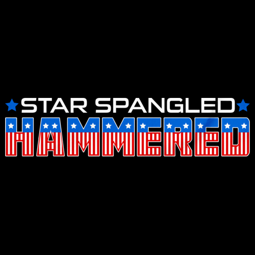 Star Spangled Hammered Black art preview