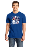 Standard Royal Epic 'Merica Pride - America Patriotism Funny USA 4th of July T-shirt