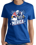 Ladies Royal Epic 'Merica - Patriotism Funny American Pride 4th of July Party T-shirt