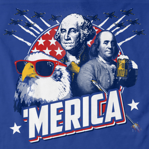 Epic 'Merica Royal Blue art preview