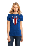 Ladies Royal Merica Tuxedo - 4th of July Party USA Pride Funny Drinking T-shirt