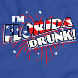 I'm Florida Drunk! Royal Blue art preview
