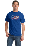 Standard Royal I'm Florida Drunk! - Florida Punchline Joke 'Merica July 4th T-shirt