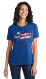 Ladies Royal I'm Missouri Drunk! - Show Me State Pride USA July 4th Party T-shirt
