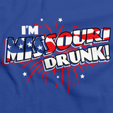 I'm Missouri Drunk! Royal Blue art preview