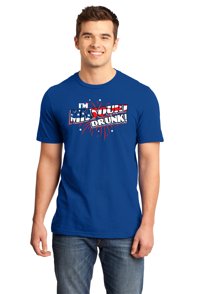 Standard Royal I'm Missouri Drunk! - Show Me State Pride USA July 4th Party T-shirt