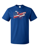Standard Royal I'm New Hampshire Drunk! - July 4th Live Free Or Die Funny T-shirt