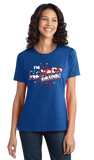 Ladies Royal I'm Nevada Drunk! - 4th of July Party Vegas Drinking Funny T-shirt