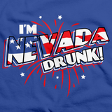 I'm Nevada Drunk! Royal Blue art preview