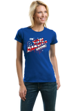 Ladies Royal I'm South Dakota Drunk! - 4th of July Mount Rushmore Party T-shirt
