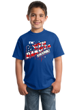 Youth Royal I'm South Dakota Drunk! - 4th of July Mount Rushmore Party T-shirt