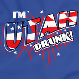 I'm Utah Drunk! Royal Blue art preview