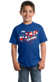 Youth Royal I'm Utah Drunk! - Ironic Drinking 4th of July Beehive State T-shirt