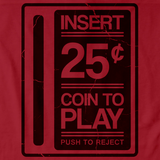 INSERT QUARTER TO PLAY Red art preview