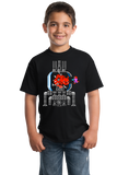 Youth Black Metroid: Mother Cat - Funny Nintendo 90s Gamer Cat Cute Fan T-shirt