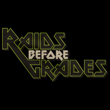 RAIDS BEFORE GRADES Black art preview