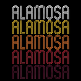 Alamosa, CO | Retro, Vintage Style Colorado Pride